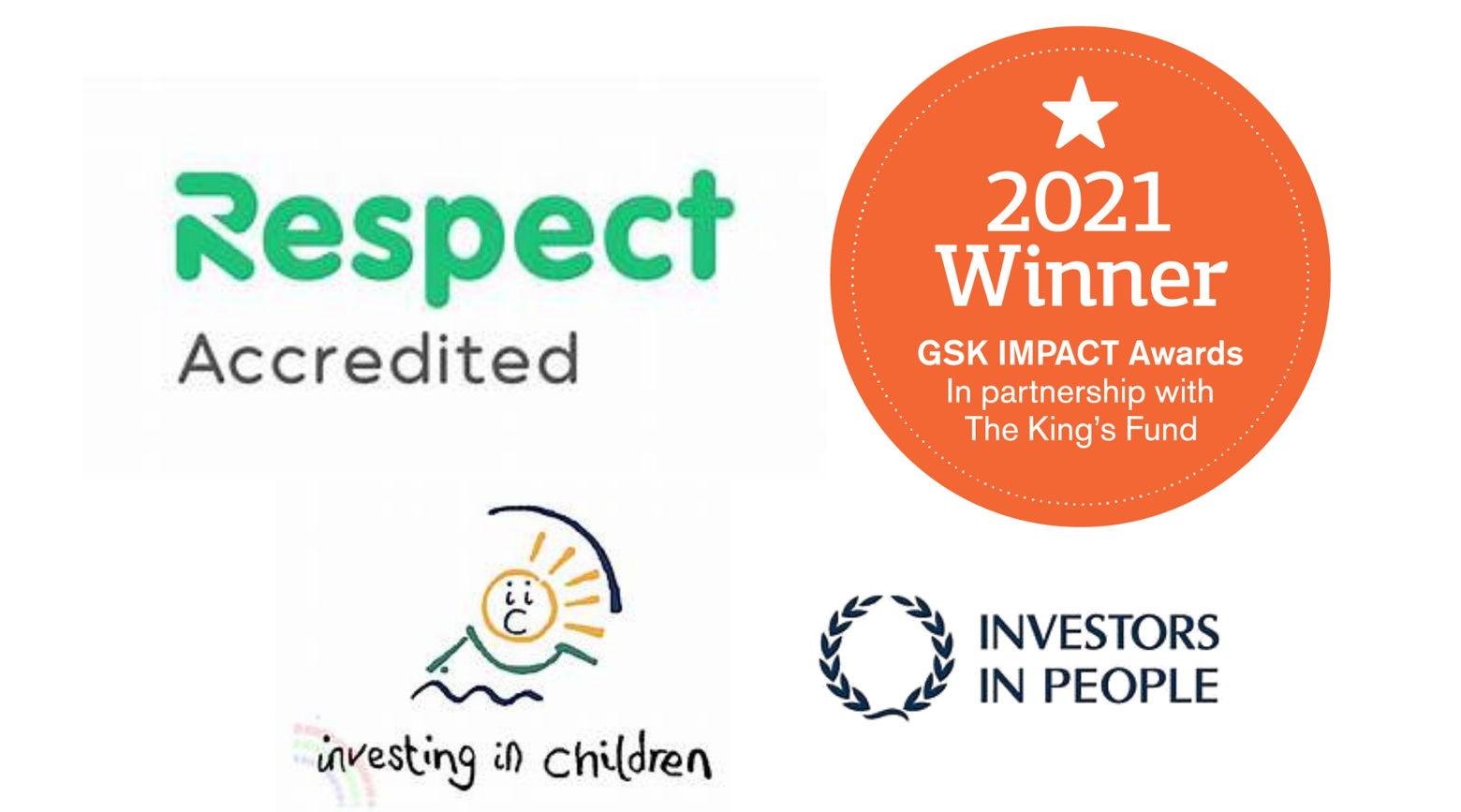 We are delighted to have been awarded the following.
